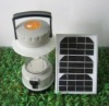 YYD-28LGR gray shell Solar camping lantern