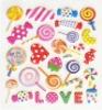 fashion cartoon sticker; pvc sticker