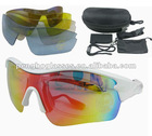 Bike sunglasses with UV400 protection