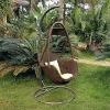 PE rattan leisure furniture garden hanging chair