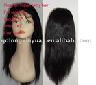 Indian human hair remy full lace wig