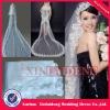 WAV016 2012 ivory one layer lace edge 5m long wedding veil