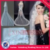 WAV016 2012 ivory one layer lace edge 5m long wedding veil