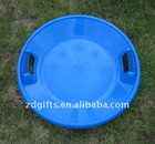 2012 New type kids and adult's plastic round snow sledge