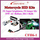 Motorcycle hit xenon kit