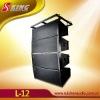 Professional 3 way full range line array speaker