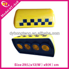 New magnet or pull hook type slim led auto taxi top lamp