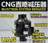 (cng conversion kits;award ECER110)diesel,300AD,CNG injection system reducer