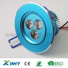 HOT!3w Bathroom indoor Round downlight