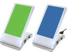 foldable USB phone holder with card reader