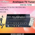 Universal Analogue TV TUNER BOX for PAL NTSC SECAM