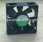 12v 0.20a dc cooling fan 70*70*25mm on cabinet