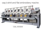 Cap ,Flat computerized embroidery machine ISO