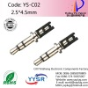 YS-C02 2.5mm male jack audio