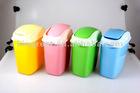 flip open plastic waste bin FP1019