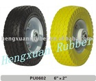 "PU Foam Wheel 6""x2"""