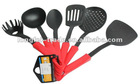 silicone kitchen utensils set 6pcs