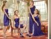 D0319 Purple Bridesmaid Dress 2012 new style