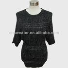 Knitted ladies batwing skirt pattern Y235
