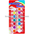 14 Colors Acrylic Paints Set