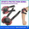 Elbow Knee Wrist Pad Protector Guard Black Red