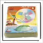 Hot! 100 pcs CD Sleeve DVD Storage Bag Case