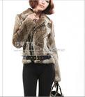 NEW ARRIVAL .wholeskin rex rabbit fur jacket,real fur coat.