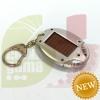 Solar LED flashlight
