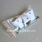 curtain hook-Iron galvanized steel hanger with white plastic,awning components,awning accessories,curtain parts