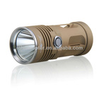 Kinfire U2 850 Lumens Super Bright White Light CREE-T6 2-Mode Waterproof Mini LED Flashlight (Yellow)