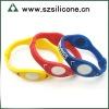 OEM logo embossed energy bracelet