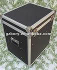 aluminum CD case with 4 wheels /CD,DVD case/aluminum CD,DVD case with drawer