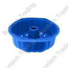 Silicone flued tube pan