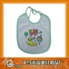 cute printing cotton bib for baby
