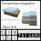 book food-safty corrugated paper pizza box