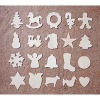Scrapbook Assorted Christmas Wood Shapes