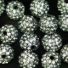 10mm, 2012 fashion DIY shamballa jewelry shamballa disco ball beads wholesale