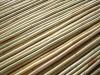 Natural dry bamboo poles