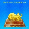 2013 advanced 24K gold art gift handiwork-wholesale hot sales - gold bull figurine