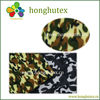 Camo printed fleece fabric with in stock goods selling!