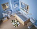 print memory foam bath mat