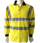reflective safety polo shirts