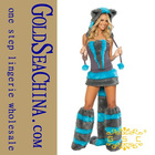 L2428 Courageous Lioness Adult Costume,Cat costumes