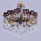 modern crystal chandelier, pendant light