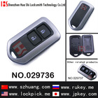High quality 2 button remote /key casing/key case/key shell smart key shell/remote control casing for toyota/029736