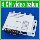 CCTV 4 Channel Video BNC Balun DVR