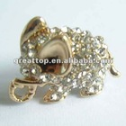 Crystal elephant dustproof plug for cell phone