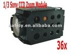 650TVL 1/3 sony HD camera zoom module