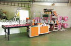 Servo Motor Driven 2 Layer 6 Line Bottom Sealing Bag Making Machine