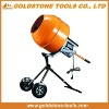 375W 0.5HP vertical concrete mixer portable pan mixer